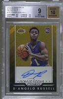 D'Angelo Russell [BGS 9 MINT] #5/10