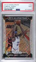 All-Star Team - LeBron James [PSA 9 MINT] #/25