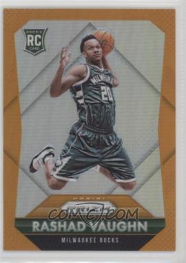 2015-16 Panini Prizm - [Base] - Orange Prizm #332 - Rookies - Rashad Vaughn /65