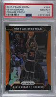 All-Star Team - Kevin Durant /65 [PSA10GEMMT]