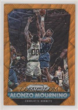 2015-16 Panini Prizm - [Base] - Orange Wave Prizm #243 - Alonzo Mourning