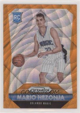 2015-16 Panini Prizm - [Base] - Orange Wave Prizm #342 - Rookies - Mario Hezonja