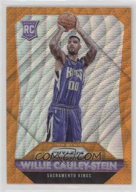 2015-16 Panini Prizm - [Base] - Orange Wave Prizm #349 - Rookies - Willie Cauley-Stein