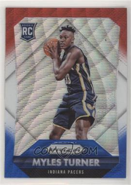 2015-16 Panini Prizm - [Base] - Red, White, & Blue Prizm #340 - Rookies - Myles Turner