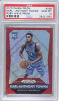 Rookies - Karl-Anthony Towns /350 [PSA 10 GEM MT]