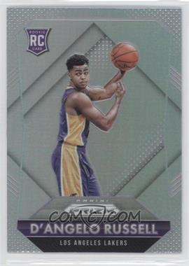 2015-16 Panini Prizm - [Base] - Silver Prizm #322 - Rookies - D'Angelo Russell