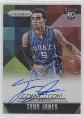 2015-16 Panini Prizm - Rookie Signatures - Prizm #RS-TJ - Tyus Jones /25