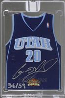 Gordon Hayward (2010-11 Panini Threads Rookie Team Threads) [BuyBack] #/59