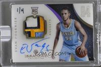 Evan Fournier (2012-13 Panini Immaculate Collection) /4 [ENCASED]