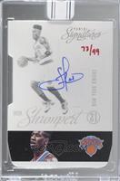 Iman Shumpert (2012-13 Panini Signatures) [BuyBack] #/99