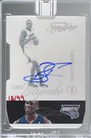 Bismack Biyombo (2012-13 Panini Signatures Die-Cut) [Buy Back] #/99