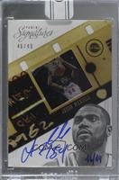 Jason Maxiell (2012-13 Panini Signatures) /49 [Buy Back]