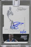 Bismack Biyombo (2012-13 Panini Signatures Die Cut) [Buy Back] #/149