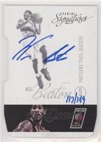 Will Barton (2012-13 Panini Signatures Die-Cut) #/149