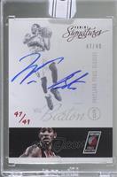 Will Barton (2012-13 Panini Signatures Red) [BuyBack] #/49