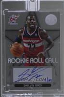Shelvin Mack (2012-13 Panini Totally Certified Rookie Roll Call) [BuyBack…