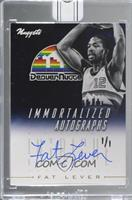 Fat Lever (2013-14 Panini Intrigue Immortalized Autographs) [BuyBack] #/1