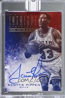 Scottie Pippen (2013-14 Panini Intrigue Red White & Blue) [BuyBack] #/1
