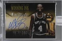 Michael Finley (2013-14 Panini Intrigue Winning Ink) /2 [Buy Back]
