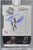 Will Barton (2012-13 Panini Signatures Die Cut) [Uncirculated] #/49