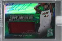 Udonis Haslem (2013-14 Panini Spectra Spectacular Swatch Signatures) [Buy…