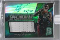 Amir Johnson (2013-14 Panini Spectra Spectacular Swatch Signatures) [BuyB…