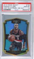 Premier Level Die-Cut - Damian Lillard [PSA 10 GEM MT] #/199