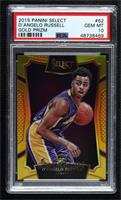 Concourse - D'Angelo Russell [PSA10GEMMT] #/10