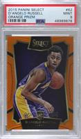 Concourse - D'Angelo Russell [PSA9MINT] #/60