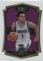 Premier Level Die-Cut - Tyus Jones #/99