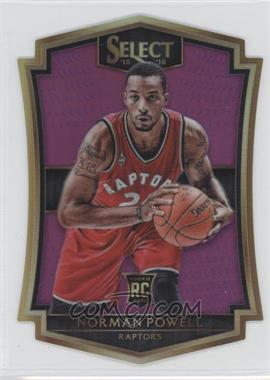 2015-16 Panini Select - [Base] - Purple Prizms #138 - Premier Level Die-Cut - Norman Powell /99