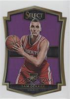 Premier Level Die-Cut - Sam Dekker /99