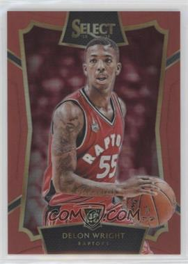 2015-16 Panini Select - [Base] - Red Prizms #82 - Concourse - Delon Wright /149