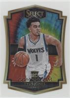 Premier Level Die-Cut - Tyus Jones #/25