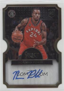 2015-16 Panini Select - Die-Cut Rookie Autographs #29 - Norman Powell /60