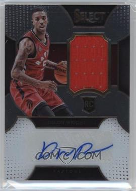 2015-16 Panini Select - Rookie Autographed Materials #RA-DWR - Delon Wright /125