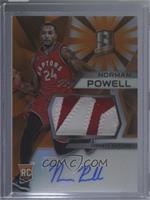 Rookie Jerseys Autographs - Norman Powell #/25