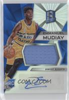 Rookie Jerseys Autograph Prizms - Emmanuel Mudiay