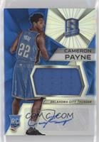 Rookie Jerseys Autograph Prizms - Cameron Payne