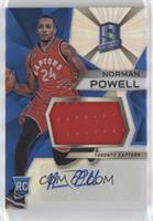 Rookie Jerseys Autograph Prizms - Norman Powell