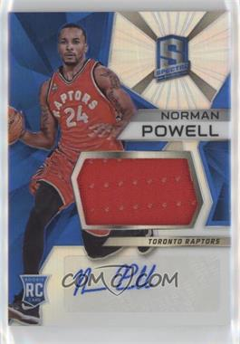 2015-16 Panini Spectra - [Base] #128 - Rookie Jerseys Autograph Prizms - Norman Powell