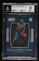 Leather Rookies - Karl-Anthony Towns [BGS9MINT]
