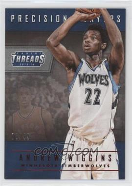 2015-16 Panini Threads - Precision Players - Century Proof Red #19 - Andrew Wiggins /99