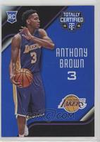 Rookies - Anthony Brown #/99