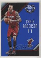 Chris Andersen #/99