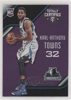 Rookies - Karl-Anthony Towns #/50
