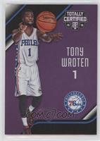 Tony Wroten #/50