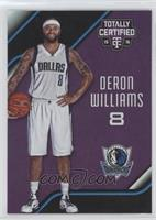 Deron Williams #/50
