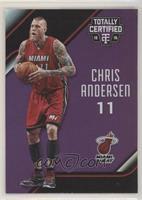 Chris Andersen #/50