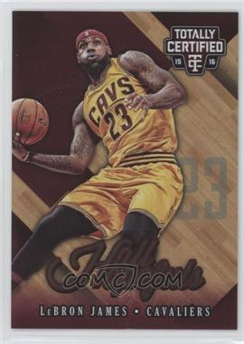 2015-16 Panini Totally Certified - Certified Hall Hopefuls #4 - LeBron James /199